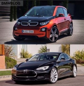 BMW i3 vs. Tesla Model S