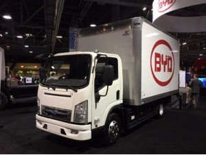 BYD medium duty truck