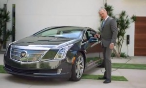 Cadillace ELR being charged