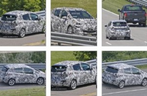 Chevrolet Bolt spy shots
