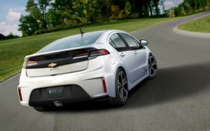 Chevy Volt redesigned