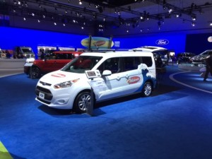 Ford Transit Connect - Wahoo fleet van