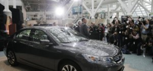 Honda Accord green car of year award