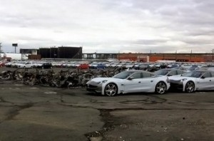 Hurricane Sandy and Fisker Karma