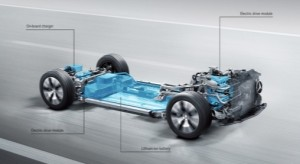 Mercedes electric powertrain