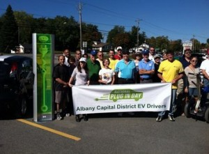 National Plug In Day - Albany drivers