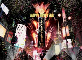 New Years Eve at Time Square