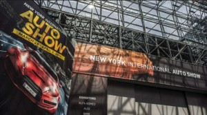 New York Auto show sign