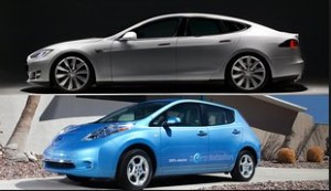 Tesla Model S vs. Nissan Leaf