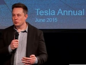 Tesla annual meeting