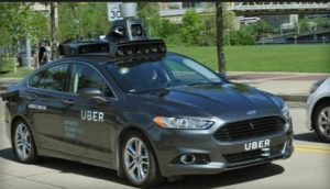 Uber autonomous vehicle test project