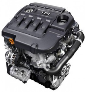 VW TDI engine