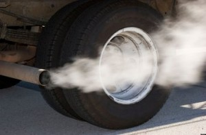 Vehicle tailpipe emissions